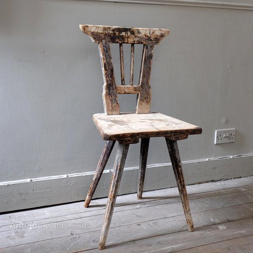 - Antique Swedish Spinners Chair - Antiques Atlas