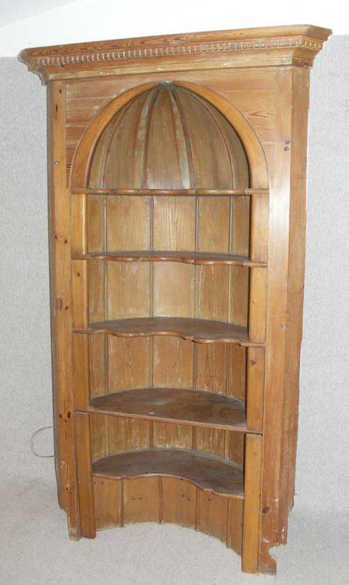 1930s pine corner shelf antiques atlas rh antiques atlas com pine corner wall shelves pine corner wall shelves