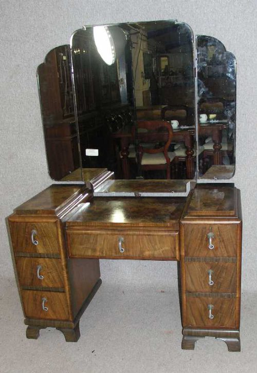 Elegant Art Deco Dressing Table
