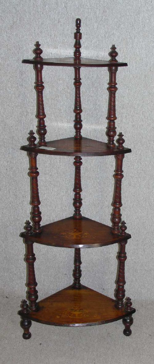 Superieur Edwardian Mahogany What Not
