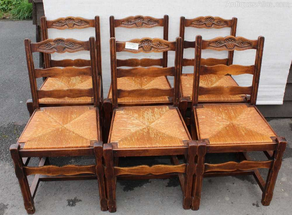 ... Chair Sets Of 6 Antique Dining Chairs ...