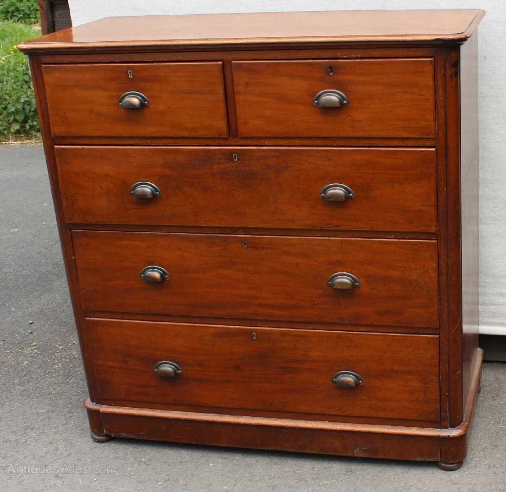 Corner Chest Of Drawers ~ Victorian mahogany round corner chest drawers antiques atlas
