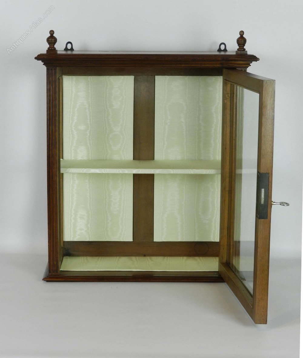 mahogany display cabinet mahogany display cabinet antiques atlas 3954