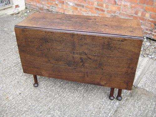 Superior OAK Drop Leaf Table C1770 Antique ...