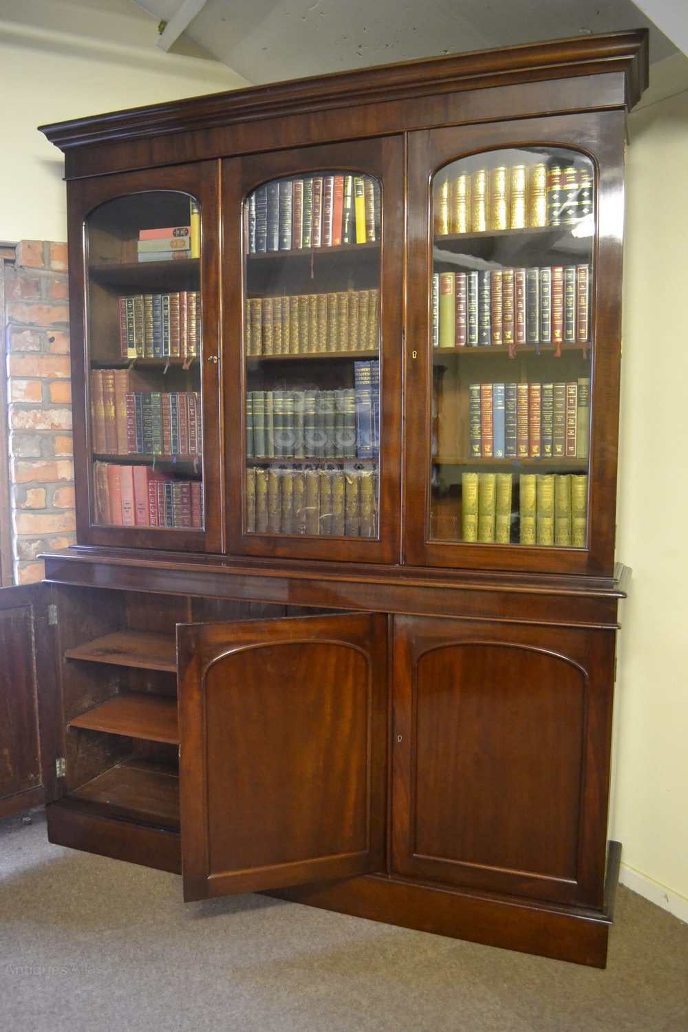 Antique library bookcases Custom Built Library Victorian Mahogany Library Bookcase C1870 Antique Library Bookcases Antiques Atlas Victorian Mahogany Library Bookcase C1870 Antiques Atlas