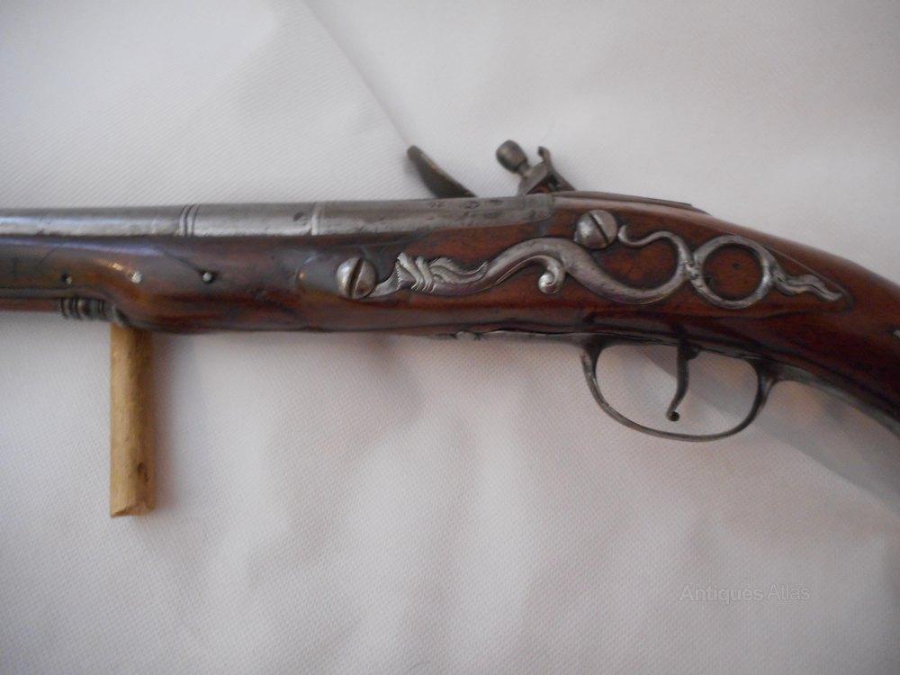 Steel Plate For Sale >> Antiques Atlas - Flintlock Pistol C. 1720