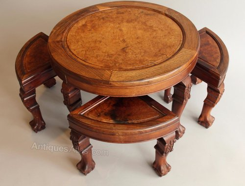 19th century chinese hardwood nest of tables rosewood antiques atlas 19th century chinese hardwood nest of tables rosewood watchthetrailerfo