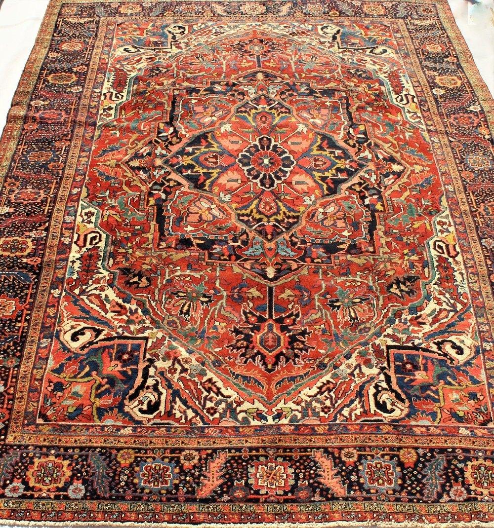 Antiques Atlas Ahar Heriz Carpet