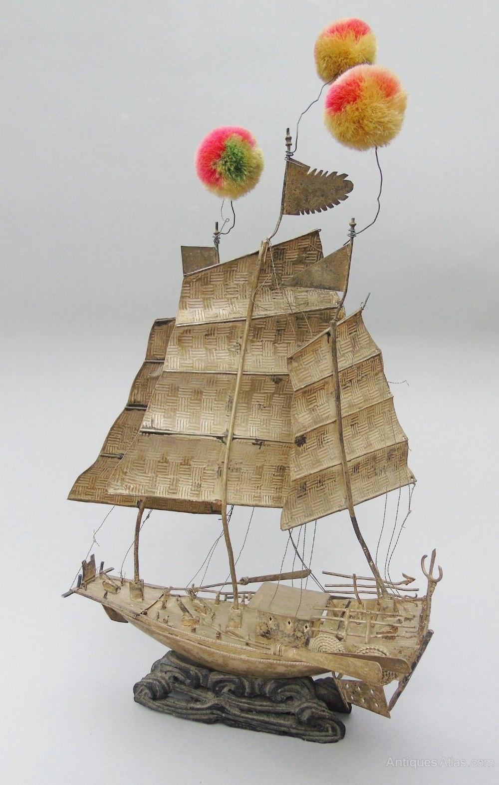 Antique Chinese Sailing Junk