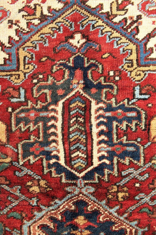 Antiques Atlas Antique Heriz Carpet Room Size