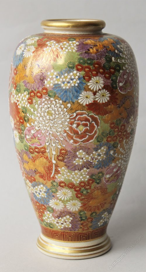 Antiques Atlas Antique Japanese Satsuma Vase
