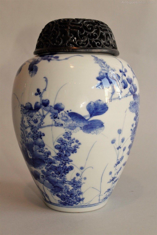Antiques atlas antique japanese seto vase antique japanese seto vase antique ceramics japanese oriental reviewsmspy