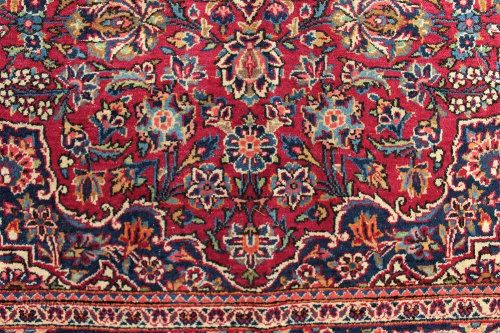 Antiques Atlas Antique Kashan Carpet