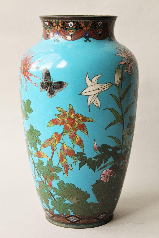 Antiques Atlas Antique Large Japanese Cloisonne Vase