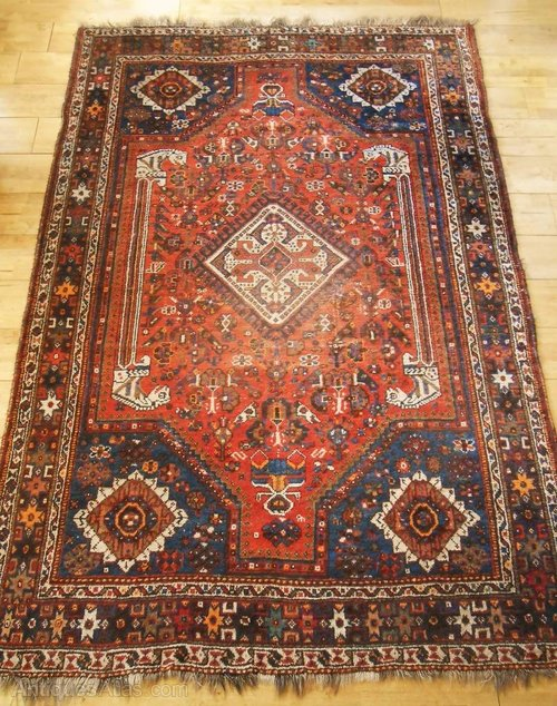 Antiques Atlas Antique Persian Qashqai Rug Carpet C 1900