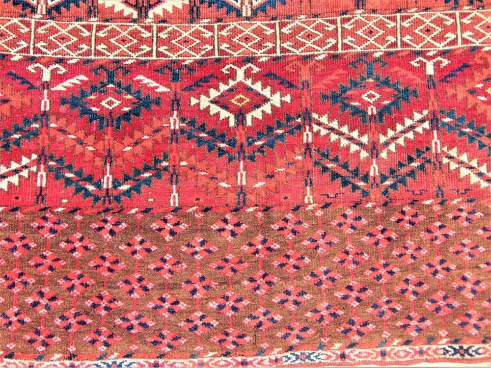 Antiques Atlas Antique Tekke Turkman Ensi Carpet Rug