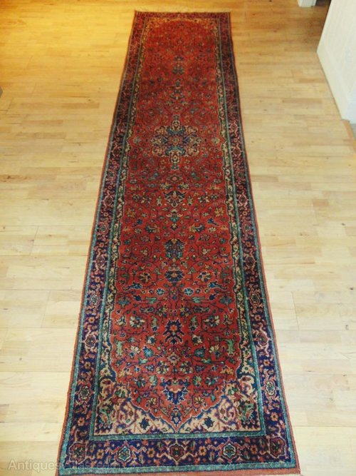 Pair Of Indian Rug Carpet Runners Antique Rugs Alt5