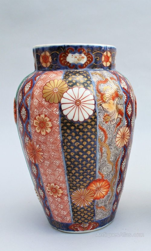 Antiques Atlas Pair Of Japanese Fukagawa Imari Vases