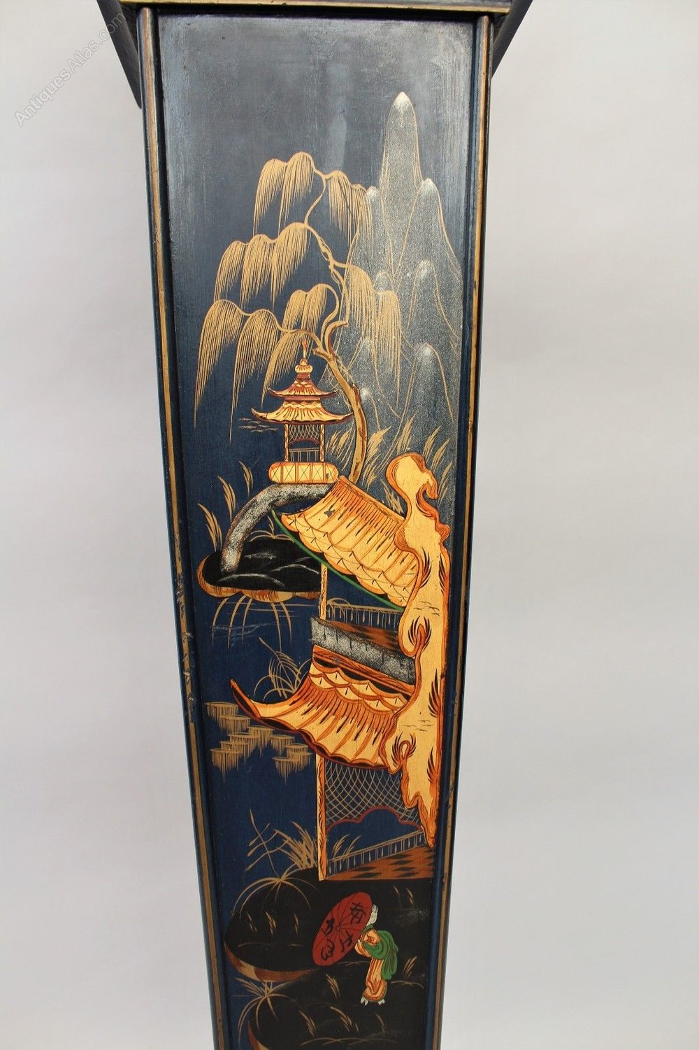 Antiques Atlas Pretty Chinoiserie Grandmother Clock