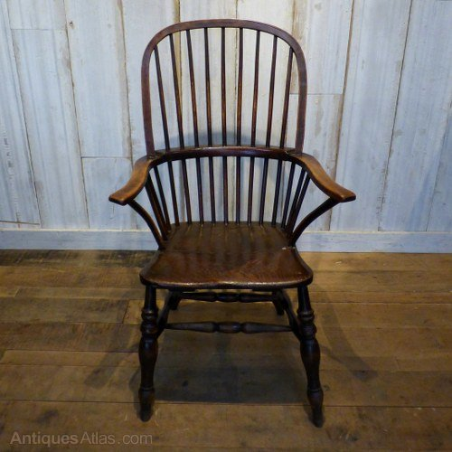 Georgian Hoop Back Chair Antique Windsor Chairs