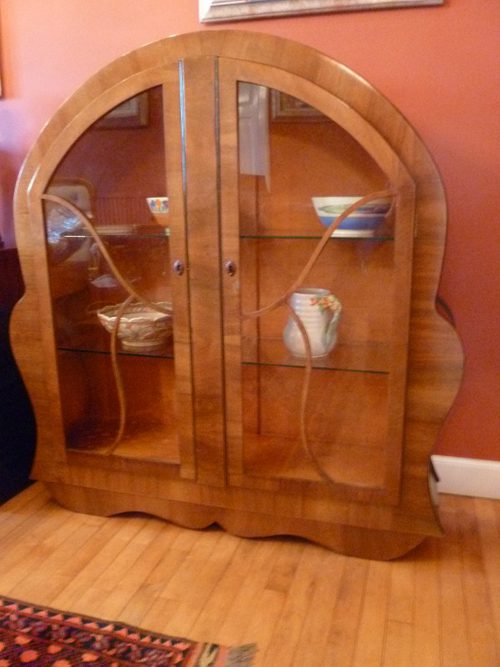 1940s Display Cabinet - Antiques Atlas