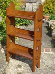 Arts & Craft Sedley bookcase for Liberty