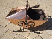 Arts & Crafts Benham & Froud copper coal scuttle