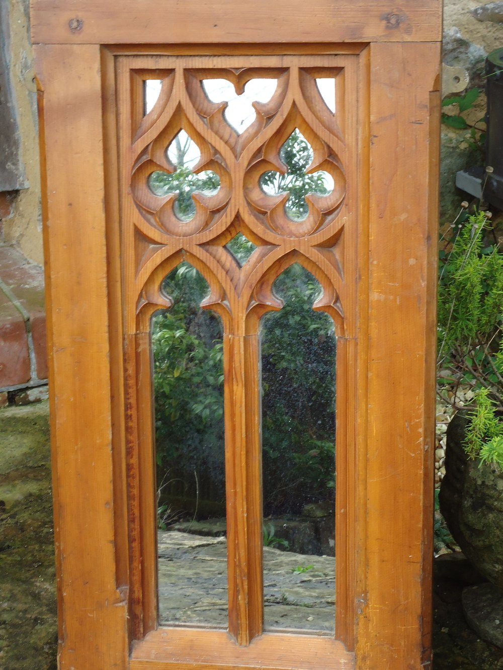 Arts and crafts mirrors - Arts Crafts Gothic Pine Mirror Arts And Crafts Mirrors