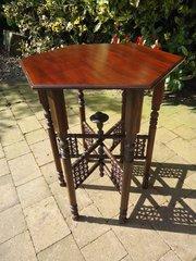 Arts & Crafts Mashrabiya table. Liberty