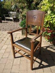Arts & Crafts armchair - W J Neatby