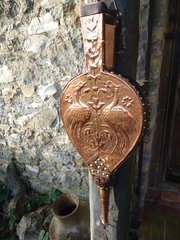 Arts & Crafts copper bellows - keswick