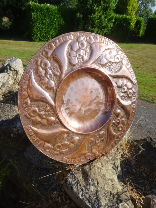Newlyn Arts Crafts Copper