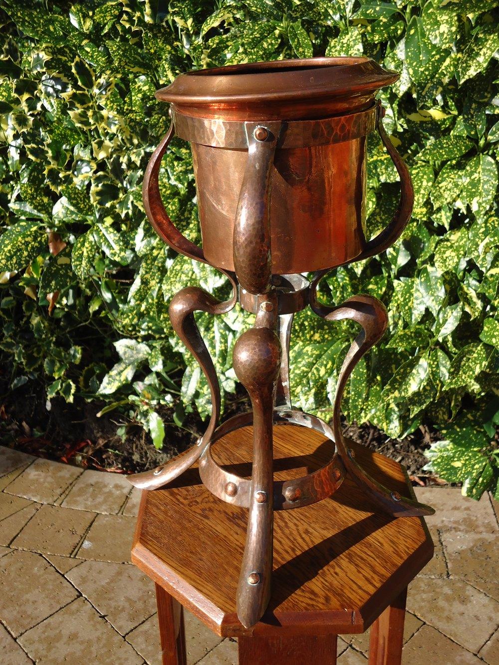 Antiques Atlas Rare Arts Amp Crafts Copper Ice Bucket Or