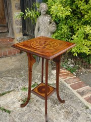 Arts & Crafts  Celtic pen work table