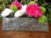 Arts & Crafts pewter posy vase