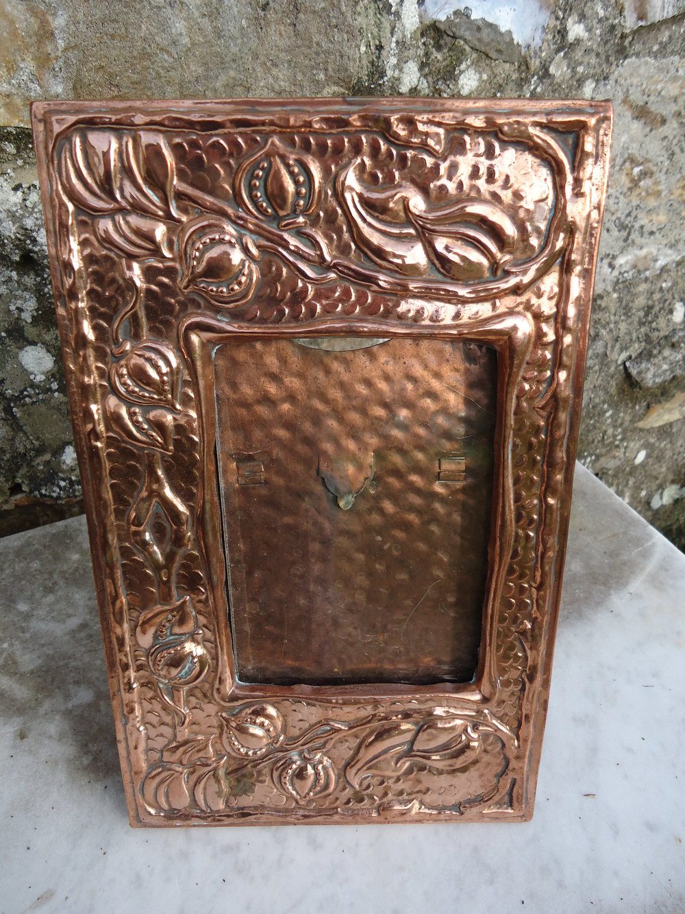 Antiques Atlas Gorgeous Arts Crafts Copper Photo Frame