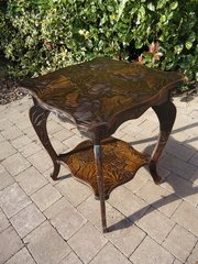 Large Arts & Crafts Japanese table for Liberty