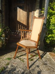 Liberty Arts & Crafts high back stick chair