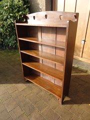 Liberty Arts & Crafts oak bookcase