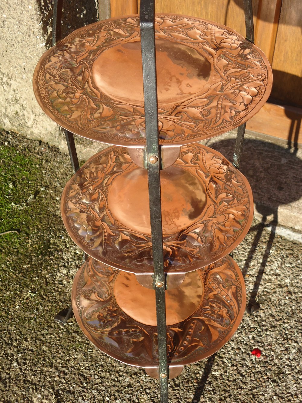 antique cake stands stunning arts amp crafts cake stand keswick antiques atlas 1323