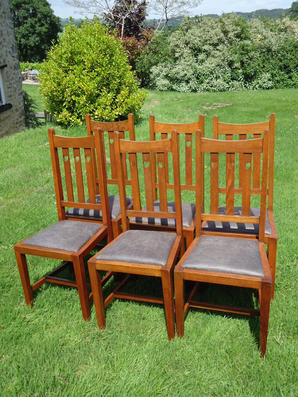 Chair Sets Of 6 Antique Dining Chairs