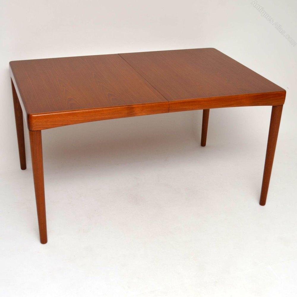 teak retro furniture. Danish Teak Retro Dining Table By Bramin Furniture E