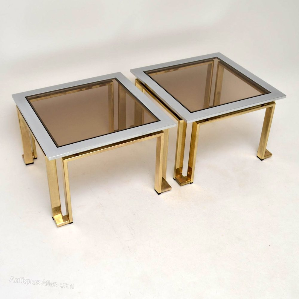 Vintage And Retro Side Tables