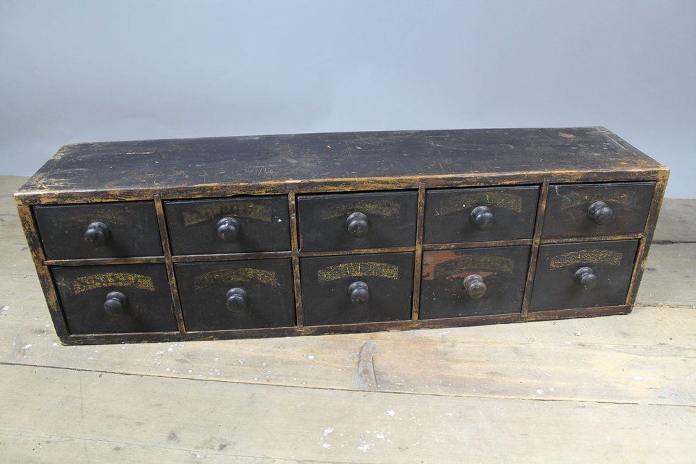 19th Century Set Of Apothecary Drawers Antiques Atlas
