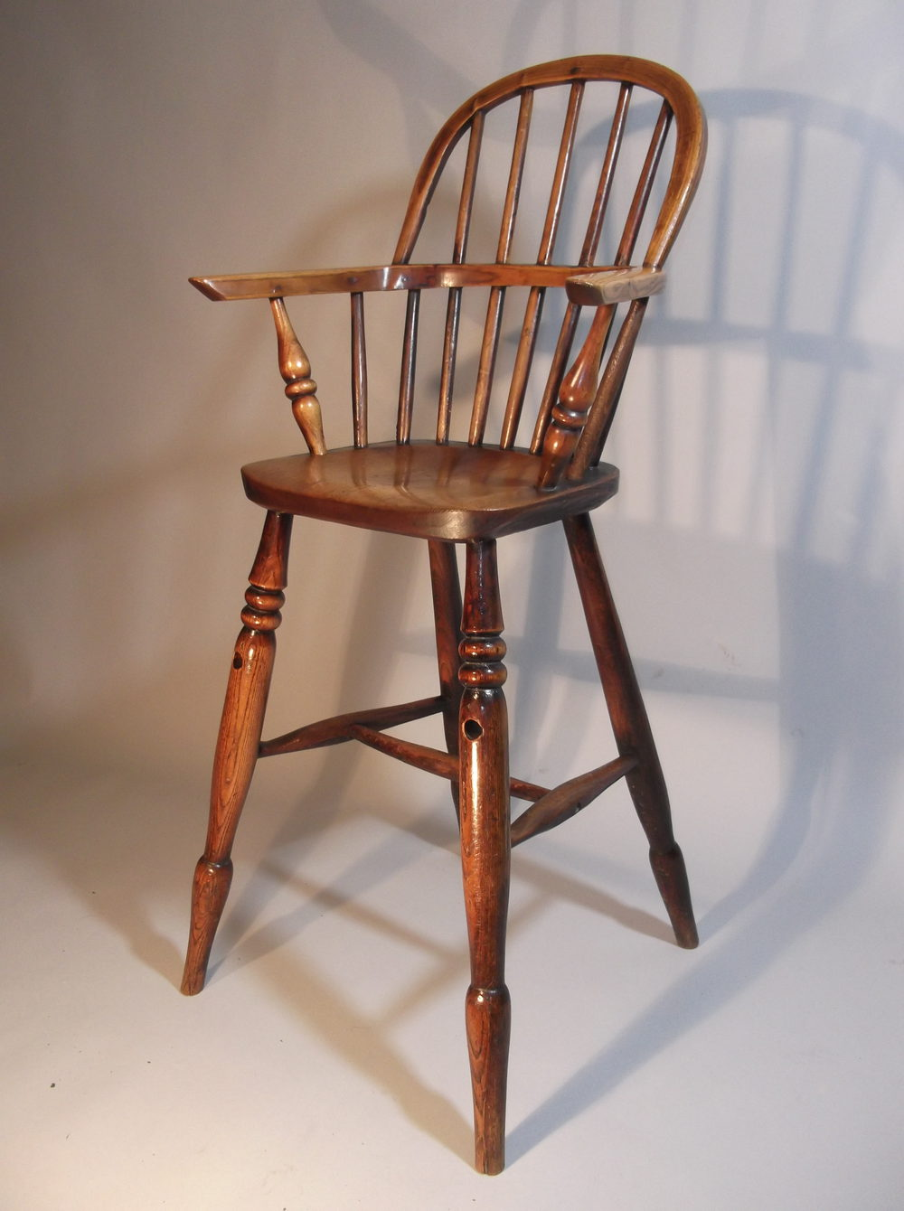 Childs 19th c windsor high chair Lincolnshire Antique ... - Child's 19th C Windsor High Chair Lincolnshire - Antiques Atlas
