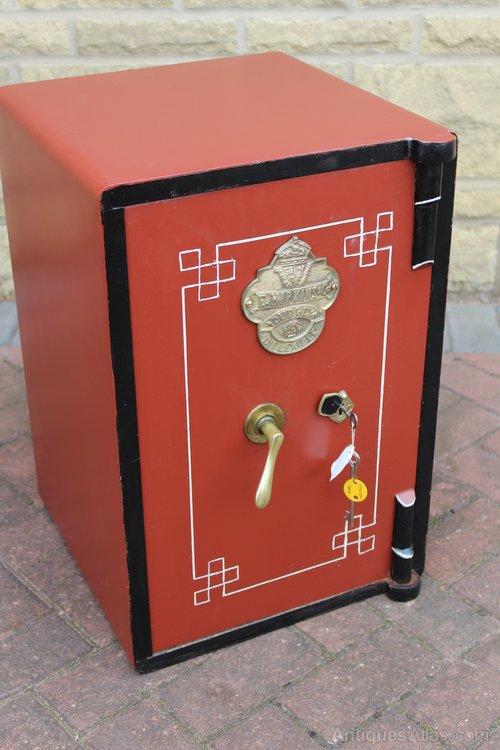Antiques Atlas - Antique Safe E Hipkins & Co Dudley