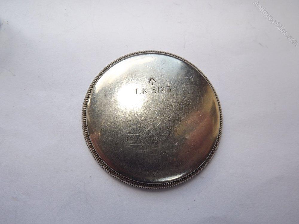Antiques Atlas Elgin Military Black Dial Pocket Watch