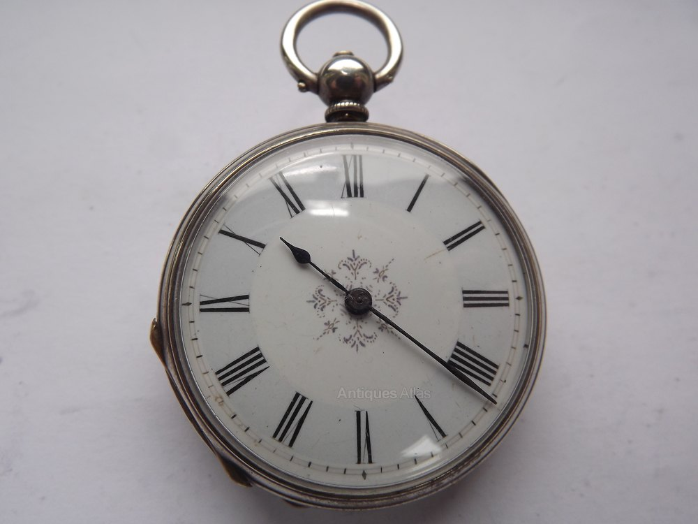 7e8fb6580 Antiques Atlas - Ladies Swiss Silver Pocket Watch, Lacote Geneva