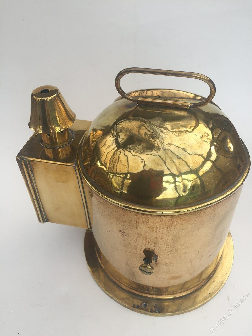 Antiques Atlas - Nautical Antique Brass Binnacle Compass