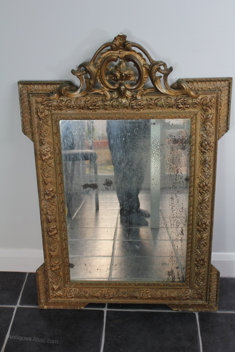 Antiques atlas 19th century french mirror for French mirror